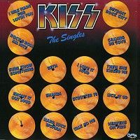 Cover KISS - The Singles