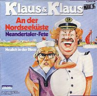 Cover Klaus & Klaus - An der Nordseeküste