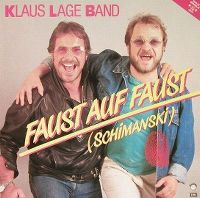 Cover Klaus Lage Band - Faust auf Faust (Schimanski)