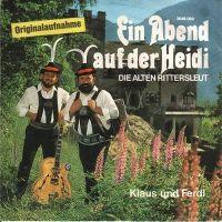 Cover Klaus und Ferdl - Ein Abend auf der Heidi