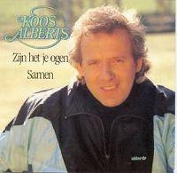Cover Koos Alberts - Zijn het je ogen
