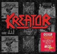 Cover Kreator - Love Us Or Hate Us