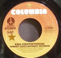 Cover Kris Kristofferson - Nobody Loves Anybody Anymore