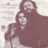 Cover Kris Kristofferson & Rita Coolidge - A Song I'd Like To Sing