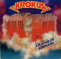Cover Krokus - Change Of Address