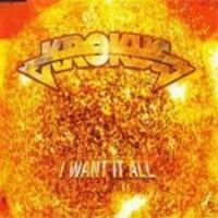 Cover Krokus - I Want It All