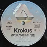 Cover Krokus - Stayed Awake All Night