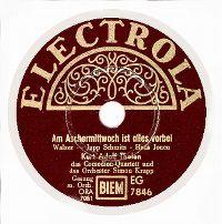 Cover Kurt Adolf Thelen - Am Aschermittwoch ist alles vorbei
