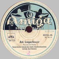 Cover Kurt Henkels und das Rundfunk-Tanzorchester Leipzig - Am Lagerfeuer