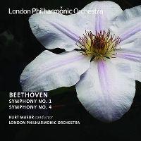 Cover Kurt Masur / London Philharmonic Orchestra - Beethoven: Symphony No. 1 - Symphony No. 4