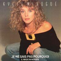 Cover Kylie Minogue - Je ne sais pas pourquoi
