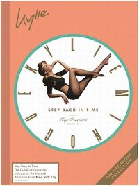 Cover Kylie Minogue - Step Back In Time - The Definitive Collection