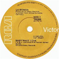 Cover La Bionda - Baby Make Love