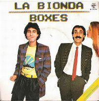 Cover La Bionda - Boxes