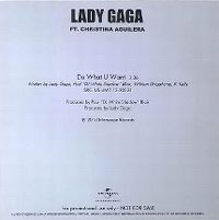 Cover Lady Gaga feat. Christina Aguilera - Do What U Want