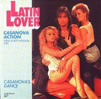 Cover Latin Lover - Casanova Action