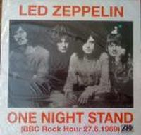 Cover Led Zeppelin - One Night Stand (BBC Rock Hour 27.6.1969)