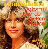 Cover Lena Valaitis - Da kommt José - der Straßenmusikant