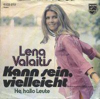 Cover Lena Valaitis - Kann sein, vielleicht