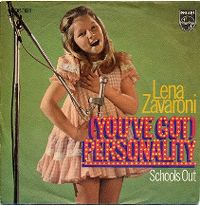 Cover Lena Zavaroni - (You've Got) Personality