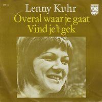 Cover Lenny Kuhr - Overal waar je gaat