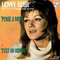 Cover Lenny Kuhr - Pense à moi