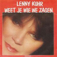 Cover Lenny Kuhr - Weet je wie we zagen