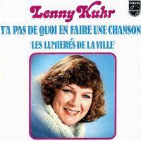 Cover Lenny Kuhr - Y'a pas de quoi en faire une chanson