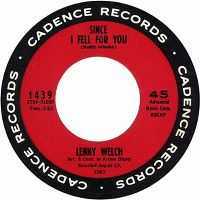 Cover Lenny Welch - Since I Fell For You