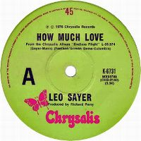 Cover Leo Sayer - How Much Love