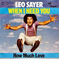 Cover Leo Sayer - When I Need You