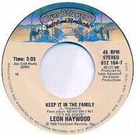 Cover Leon Haywood - Keep It In The Family