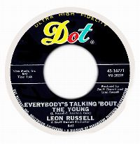 Cover Leon Russell - Everybody's Talking 'Bout The Young