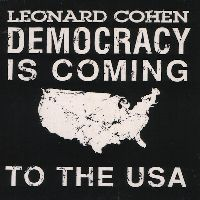Cover Leonard Cohen - Democracy