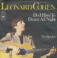 Cover Leonard Cohen - Do I Have To Dance All Night