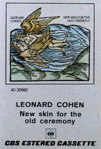 Cover Leonard Cohen - New Skin For The Old Ceremony