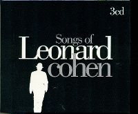Cover Leonard Cohen - Songs Of Leonard Cohen - Songs Albums 3CD