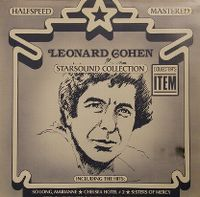 Cover Leonard Cohen - Starsound Collection