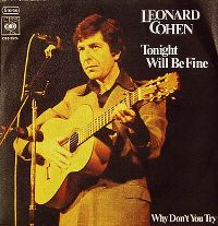 Cover Leonard Cohen - Tonight Will Be Fine