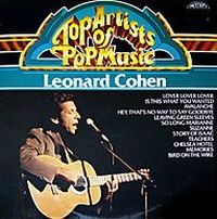 Cover Leonard Cohen - Top Artists Of Pop Music