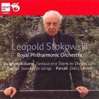 Cover Leopold Stokowski / Royal Philharmonic Orchestra - Vaughan Williams / Dvořák / Purcell