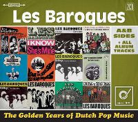 Cover Les Baroques - The Golden Years Of Dutch Pop Music