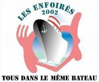 Cover Les Enfoirés - 2002: Tous dans le même bateau