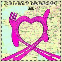 Cover Les Enfoirés - 2015: Sur la route des Enfoirés