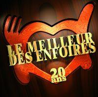 Cover Les Enfoirés - Le meilleur des Enfoirés - 20 ans