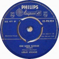 Cover Leslie Uggams - One More Sunrise (Morgen)