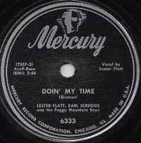Cover Lester Flatt & Earl Scruggs - Doin' My Time
