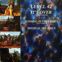 Cover Level 42 - It's Over
