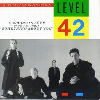 Cover Level 42 - Lessons In Love