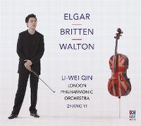 Cover Li-Wei Qin / London Philharmonic Orchestra / Zhang Yi - Elgar - Britton - Walton